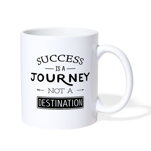 Success is a Journey Mug - The Fugly Mug Company