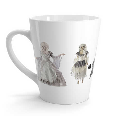 Creepy Characters Halloween Latte mug - The Fugly Mug Company