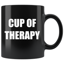 Load image into Gallery viewer, Cup of Therapy Mug - The Fugly Mug Company