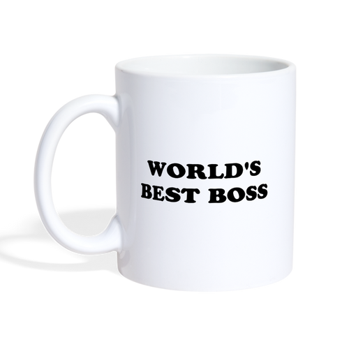 World's Best Boss Mug - The Fugly Mug Company