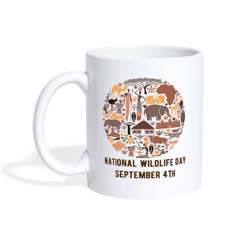 National Wildlife Day Mug - The Fugly Mug Company