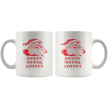 Load image into Gallery viewer, Santa Needs Coffee - The Fugly Mug Company