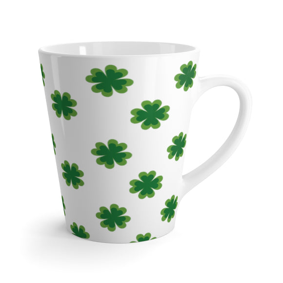 Lucky Shamrock Latte Mug - The Fugly Mug Company