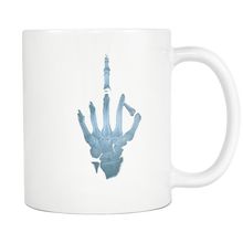 Load image into Gallery viewer, Middle Finger X-Ray Mug - The Fugly Mug Company