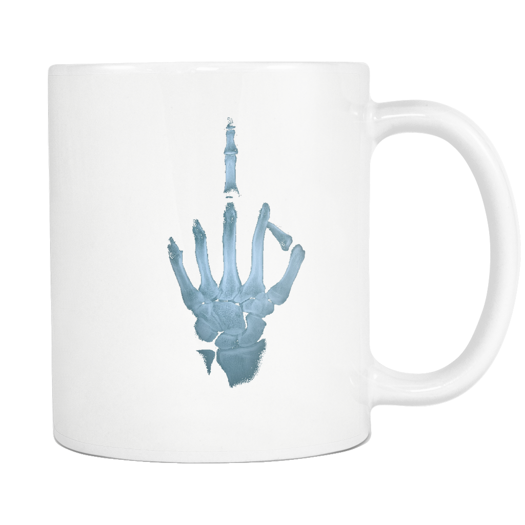 Middle Finger X-Ray Mug - The Fugly Mug Company