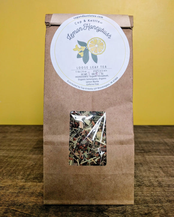 Lemon Honeybush Tea 3 oz Bag - The Fugly Mug Company