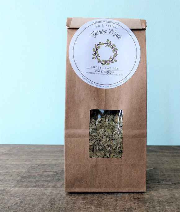 Yerba Mate Tea 3 oz Bag - The Fugly Mug Company