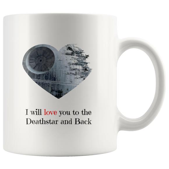 Love you to the Deathstar Mug - The Fugly Mug Company