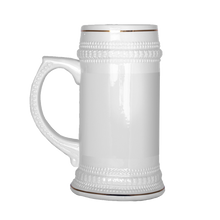 Load image into Gallery viewer, Stein Warning Beer Stein - The Fugly Mug Company
