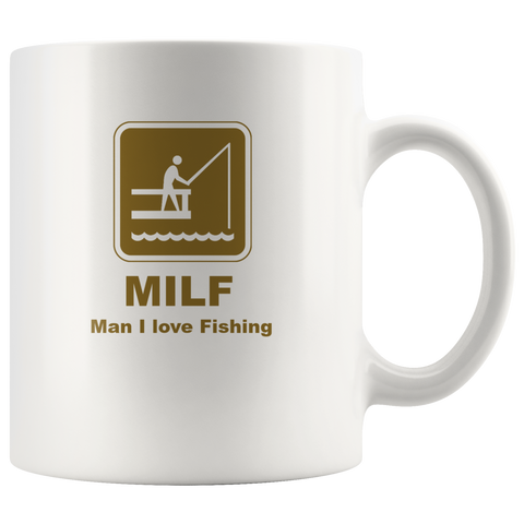 MILF Fishing Mug - The Fugly Mug Company