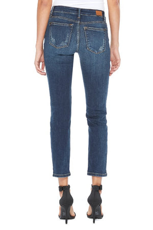 Judy Blue Boyfriend Denim - Dark Wash
