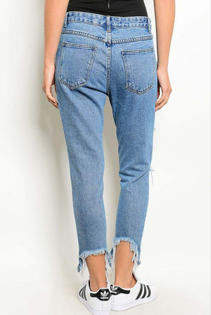 Sid Distressed Denim