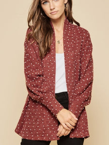 Belle Textured Cardigan