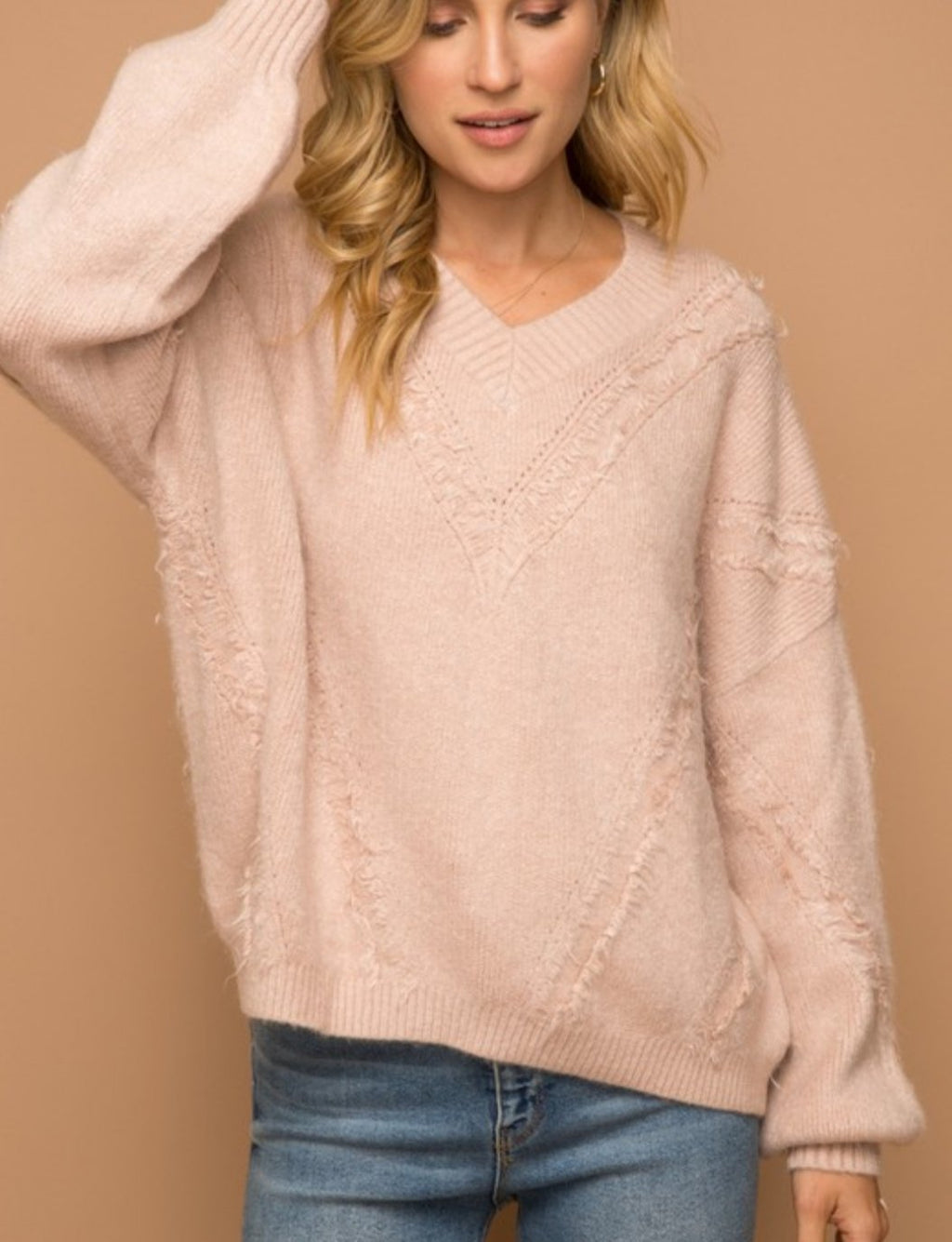 The Fray Pullover Sweater