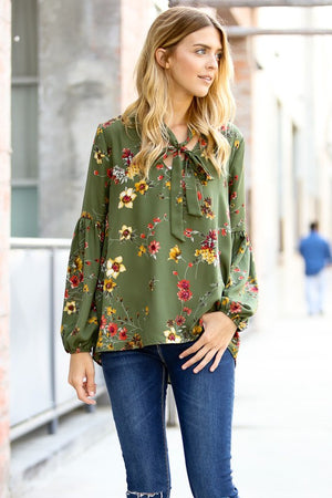 Spring Mix Floral Top