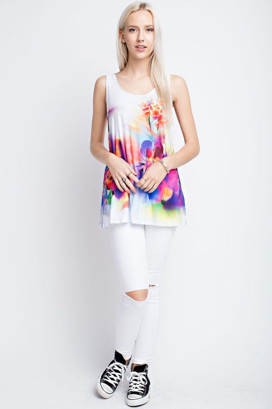 Watercolor Top