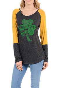 Lucky Shamrock Top