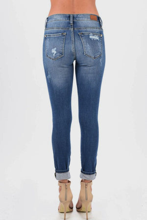 Judy Blue Animal Print Denim