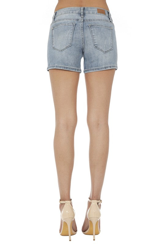 Judy Blue Cactus Patch Shorts