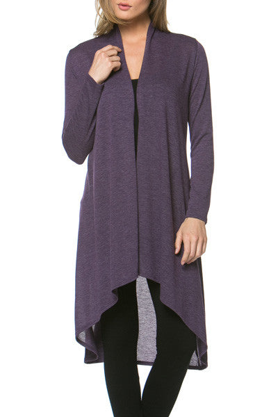 Hi-Low Cascading Cardigan