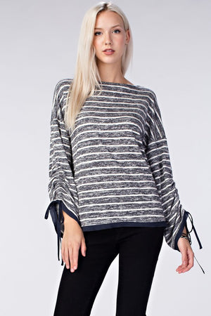 Mia Stripe Knit Top