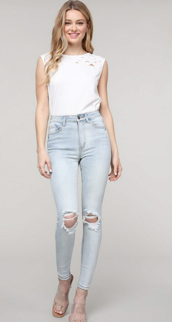 Finley High Rise Denim