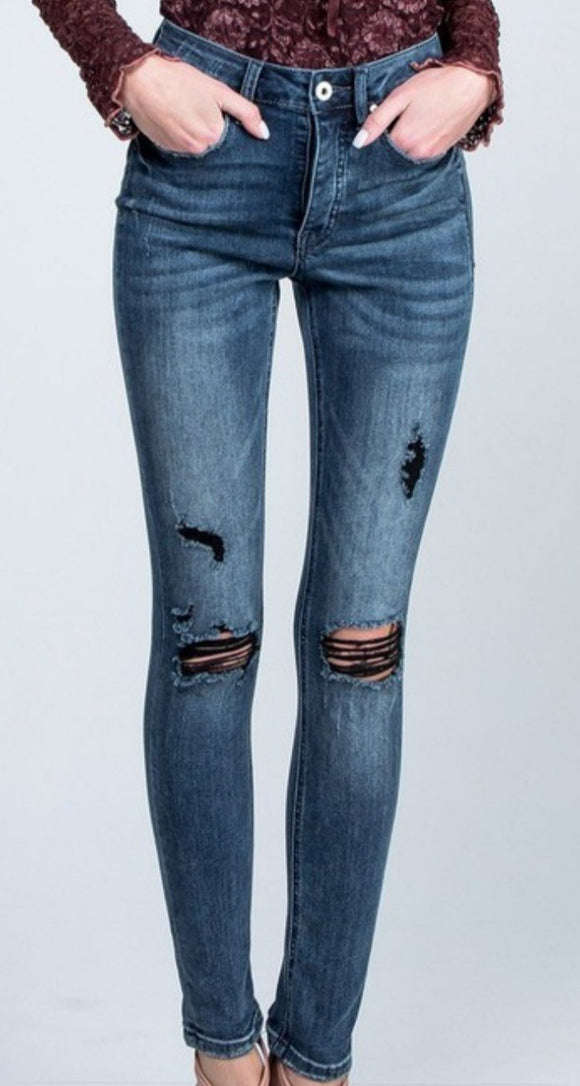 Eclipse Mid Rise Denim