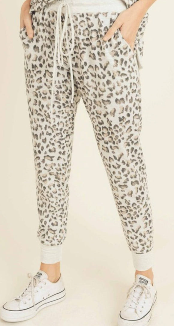 Wild Cat French Terry Joggers
