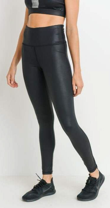 Faux Leather Look Leggings