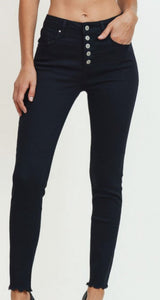 Midnight Black Denim