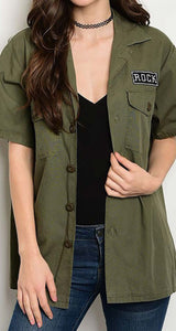 Rock Chic Cargo Top
