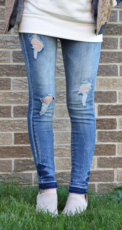 Harlow Distressed Denim