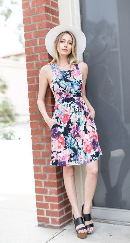 Flowerbomb Racerback Dress