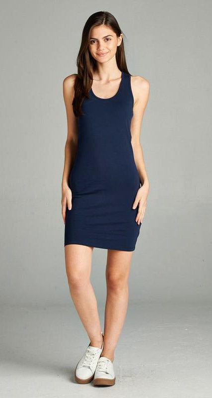 Racerback Fitted Dress