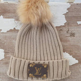 Michalke Made Patch Beanie - Almond