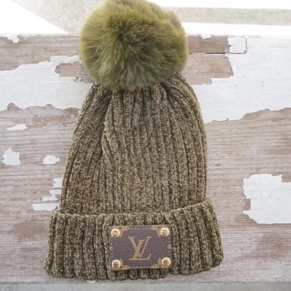 Michalke Made Patch Beanie - Olive