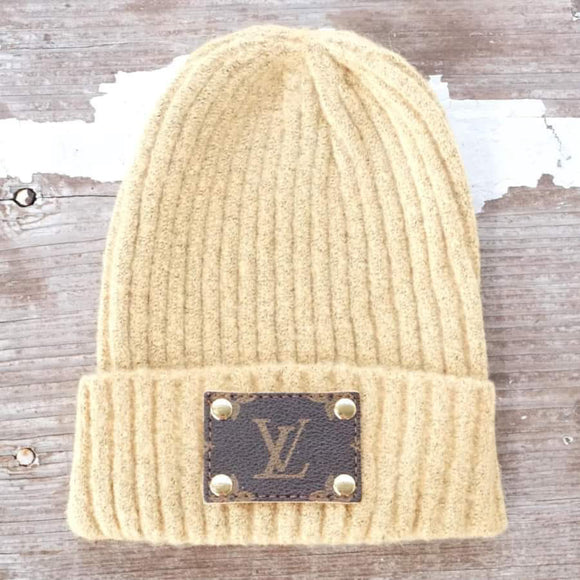 Michalke Made Patch Beanie - Mustard