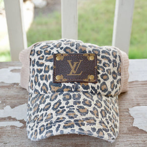 Michalke Made Patch Hat - Blonde Cheetah