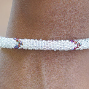 Sweet Summertime Glass Bead Bracelet