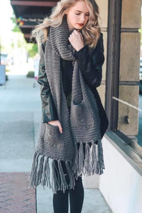 Coziest Pocket Scarf - More Colors
