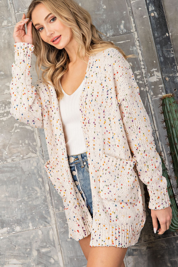 Party Cardi - Cream
