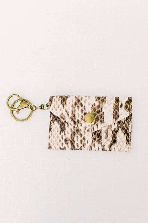 Michalke Made Keychain Wallet • Snake