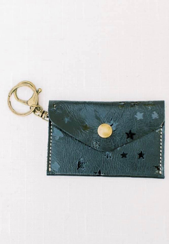 Michalke Made Keychain Wallet • Stars