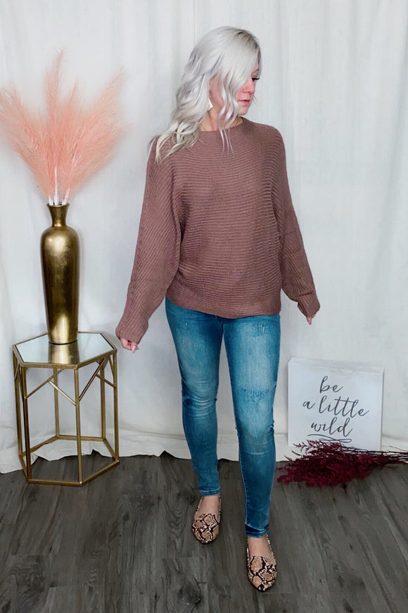 Mocha Mauve Sweater