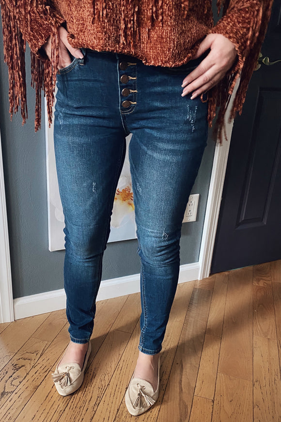 Jess High Rise Denim