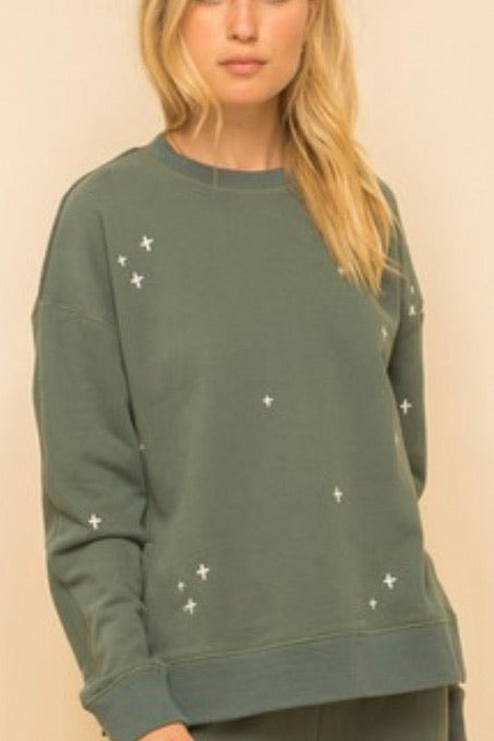 Star Crossed Pullover