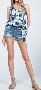 Casi Mid Rise Shorts