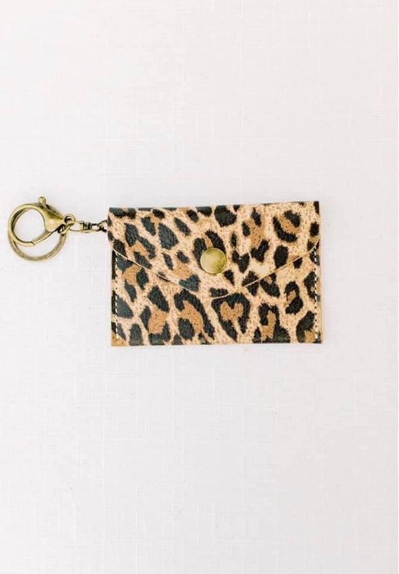 Michalke Made Keychain Wallet • Leopard