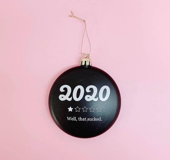 2020 Rated Holiday Ornament