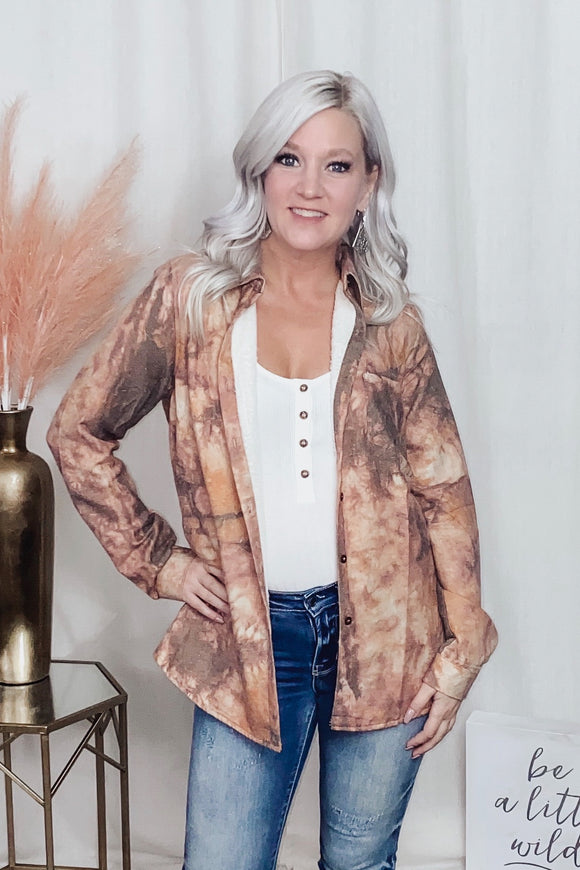Baby, It's Cold Fleece Lined Top - More Colors